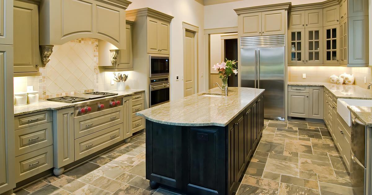 LVT in Kitchen Home