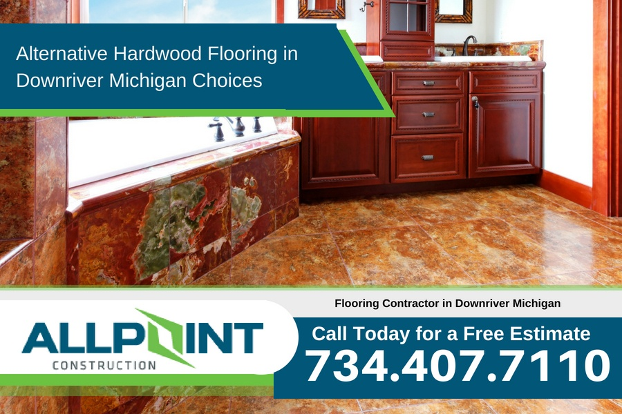 Alternative Hardwood Flooring in Downriver Michigan Choices