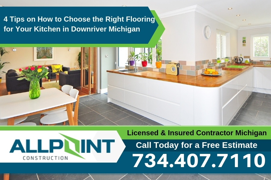 4 Tips on How to Choose the Right Flooring for Your Kitchen in Downriver Michigan